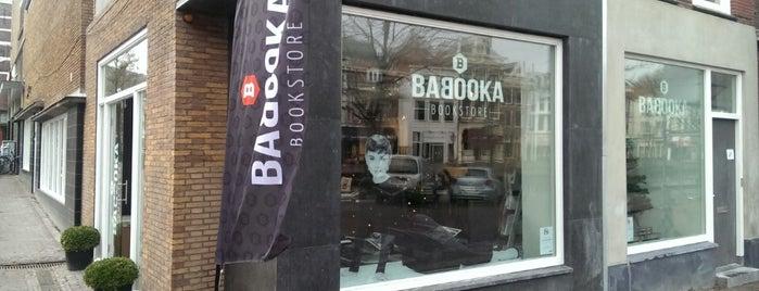 BABOOKA bookstore is one of Keep Leiden Weird.