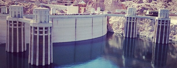 Hoover Dam is one of Dan's Places.