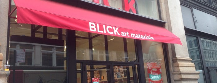 Blick Art Materials is one of NYC 2018.
