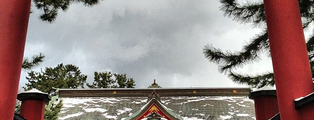 Kehi-jingu Shrine is one of 神社.