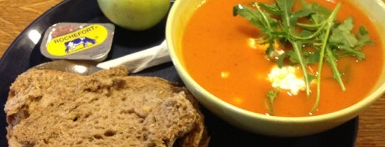 Zuppa Soupbar is one of Favorite foods.