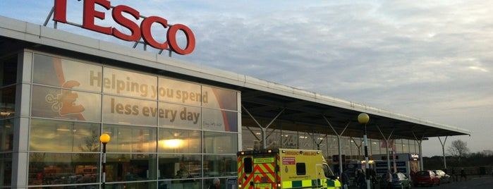 Tesco is one of March.