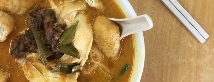 滑雞咖喱面 Restoran WK is one of KL.
