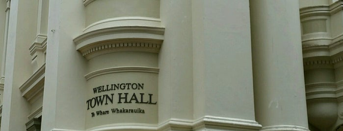 Wellington Town Hall is one of NZ to go.