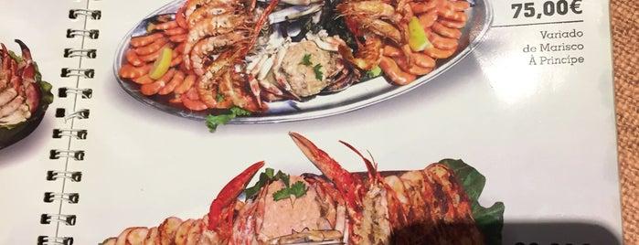O Principe is one of 20 favorite restaurants.