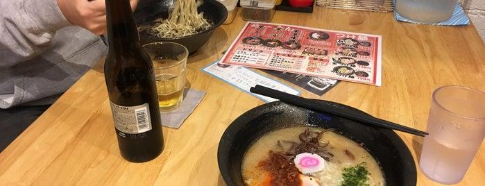 琉家 栄町店 is one of 兎に角ラーメン食べる.
