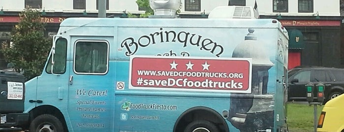 Borinquen Lunch Box is one of DC Food Trucks.