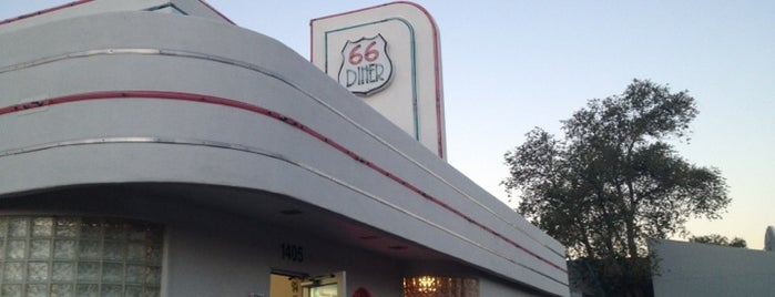 66 Diner is one of The 15 Best Places for a Chicken Fried Steak in Albuquerque.