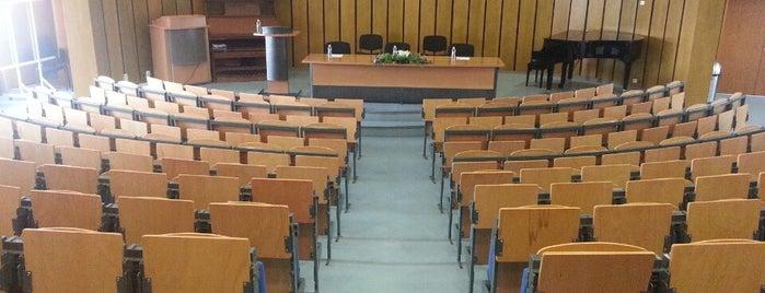 Нов български университет (New Bulgarian University) is one of Education places.