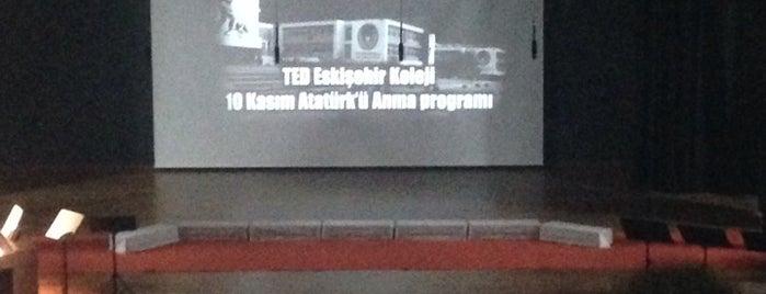 TED Eskişehir Koleji is one of Eskişehir Özel Okul | Kolejler.