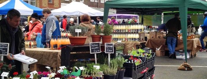 Marylebone Farmers Market is one of London 🇬🇧.
