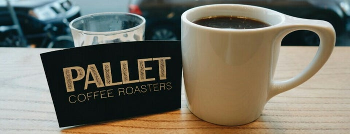 Pallet Coffee Roasters is one of Independent Coffee in Vancouver.