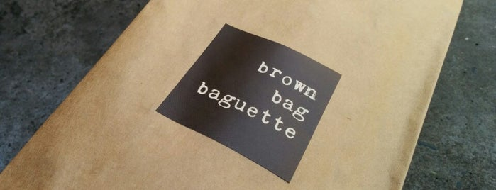 brown bag baguette is one of Amazon Campus (SLU) Lunch Spots.