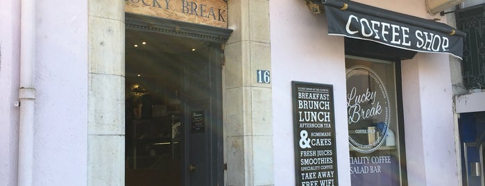 Lucky Break Coffee Shop is one of Juan-les-pins / Nice / Milan.