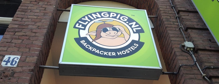 The Flying Pig Uptown is one of Europe's Famous Hostels .com.