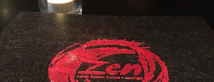Zen Restaurant is one of 510 Area.