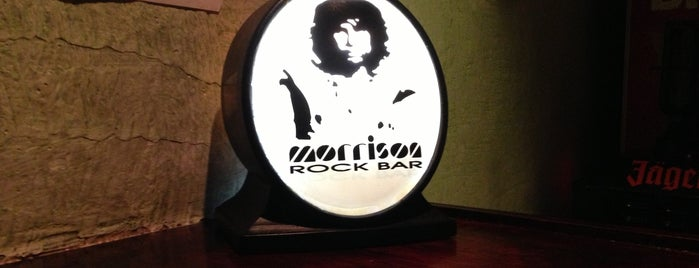 Morrison Rock Bar is one of The 15 Best Places with Live Music in São Paulo.