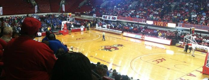 Reynolds Coliseum is one of Venues....