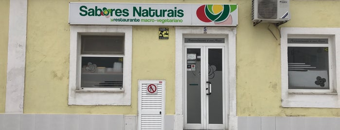 Sabores Naturais is one of Vegetarians / Vegans in Lisbon.