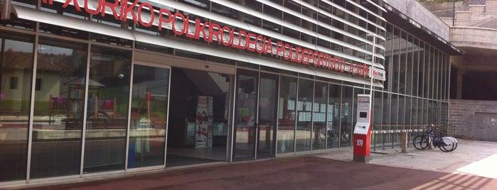 Estación de Bicicletas Bilbonbizi Atxuri is one of Estaciones de Bicicletas Bilbonbizi.