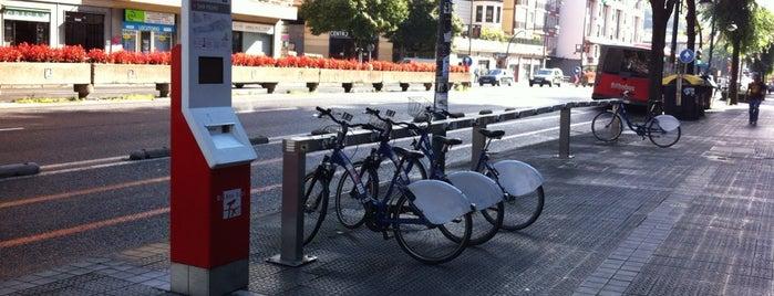Estación de Bicicletas Bilbonbizi San Pedro is one of Estaciones de Bicicletas Bilbonbizi.