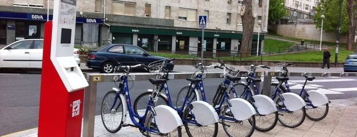 Estaciones de Bicicletas Bilbonbizi