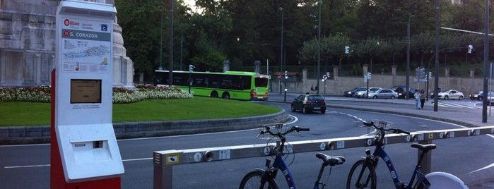 Estación de Bicicletas Bilbonbizi Sagrado Corazón is one of Estaciones de Bicicletas Bilbonbizi.