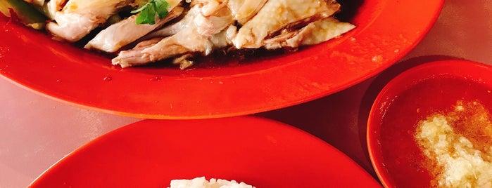 紫金城 Hainanese Boneless Chicken Rice is one of Good Food Places: Hawker Food (Part I)!.