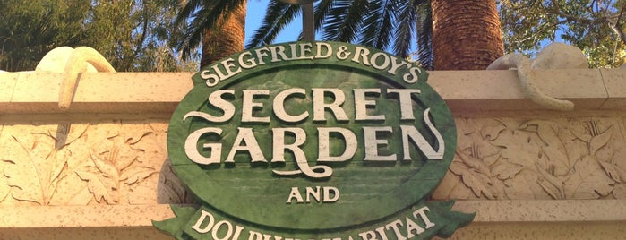 Siegfried & Roy's Secret Garden and Dolphin Habitat is one of Vegas.