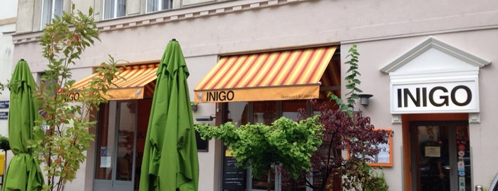 Inigo is one of Vienna's wheelchair accessible restaurants.