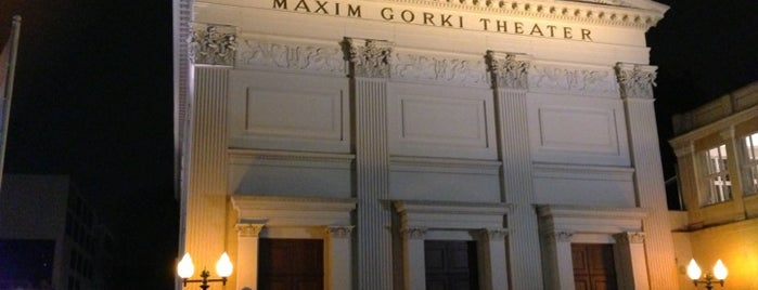 Maxim Gorki Theater is one of Mittag.