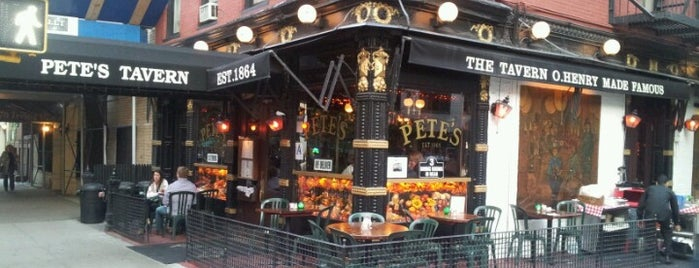 Pete's Tavern is one of Imbibe.