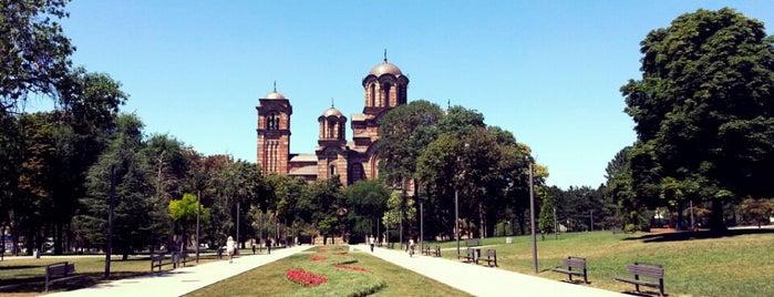 Tašmajdanski park is one of Belgrad.