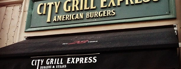 City Grill Express is one of СПб Места.