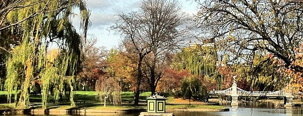 Boston Public Garden is one of Boston.
