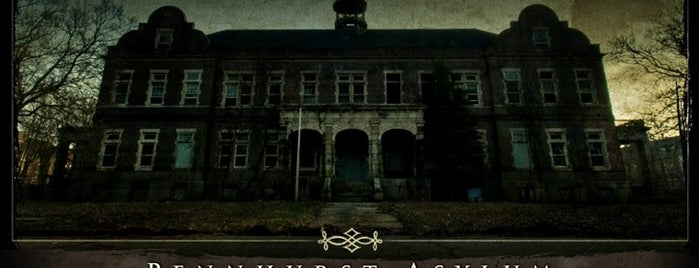 Pennhurst Asylum is one of Best Haunts and Scares-Halloween Part2.