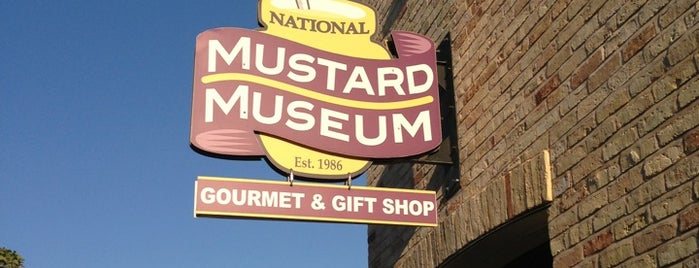 National Mustard Museum is one of My Faves.