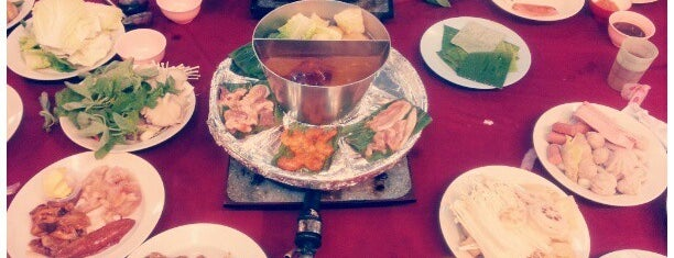 海塘自助铁板火锅 Hoi Tong Steamboat Restaurant is one of We Love Steamboat.