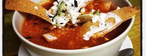 La Taquería is one of Comer bien.