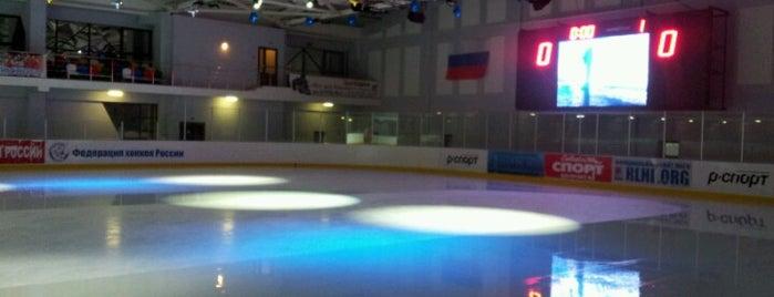 Ледовый дворец «Медведково» is one of там где была и куда пойду)).