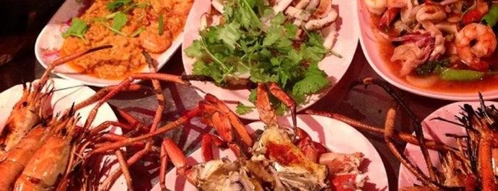 Lek & Rut Seafood is one of Enjoy eating ;).