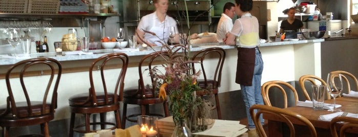 Heirloom Café is one of SF to do.