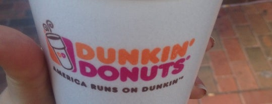 Dunkin Donuts is one of places to dine.