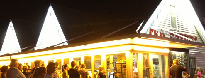 Ted Drewes Frozen Custard is one of The 15 Best Dog-Friendly Places in St Louis.