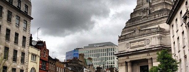 Freemasons' Hall is one of Around The World: London.