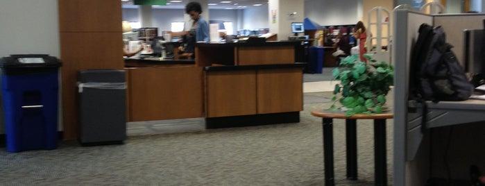 Johnson Center Library - George Mason University is one of GMU Fairfax Campus.