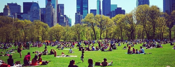 Sheep Meadow is one of The 15 Best Places for People Watching in New York City.