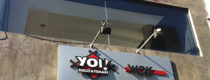 Yoi! Rolls & Temaki is one of Todo dia?.