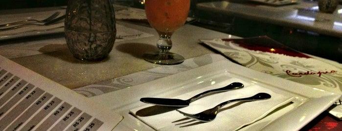 Atmosphere Bistrô e Bar is one of Restaurantes.