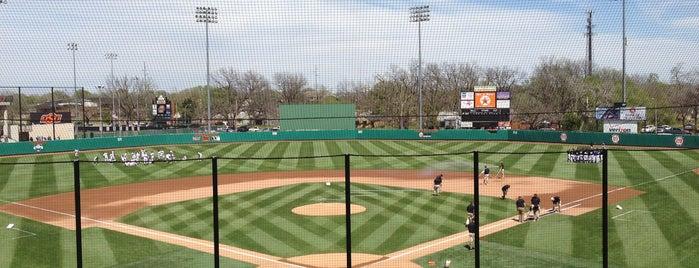 Allie P. Reynolds Baseball Stadium is one of Oklahoma.